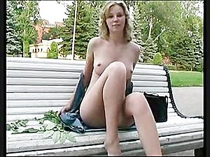 First time public exhibitionist