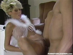 Sexy Gail Force fucked hard in classic porn scene