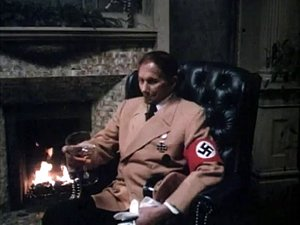 Sexy European vintage sex scene from Nazi Germany
