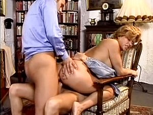 Double penetration and a creampie for hot chick