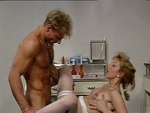 Vintage nurse porn, she gets fucked by the doctor