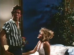 Youthful sexually excited pair in a classic porn episode