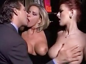 Mature Couple Sharing Busty Redhead Lady...(Vintage) F70