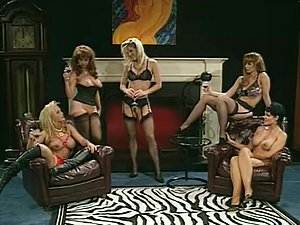 Fabulous squirt vintage clip with Jeanna Fine and Marc Wallace