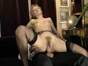 Incredible facial retro scene with Nathalie Christal and Rocco Siffredi