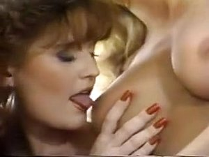 Three lesbian girls suck boobs and pussy in threesome fun