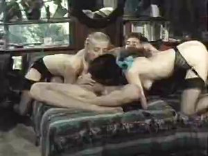 Fabulous interracial classic movie with Mike Horner and John Holmes