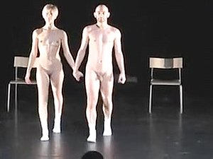 Nude Stage Performance 2 - Show Room Dummies