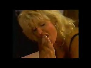 VINTAGE Penis AND TOE DOUBLE PENETRATION