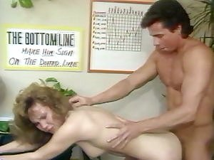 Vintage Office Sex Big Facial Peter