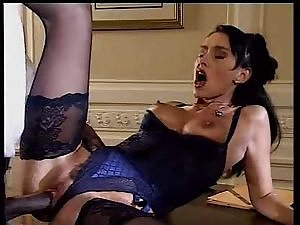 SH Retro Gorgeous Shaggy Lady Accepts Large dark shaft